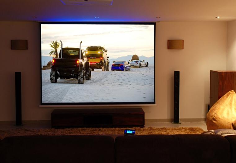 Multi-room audio, Surround sound & Cinema installation into a Villa
