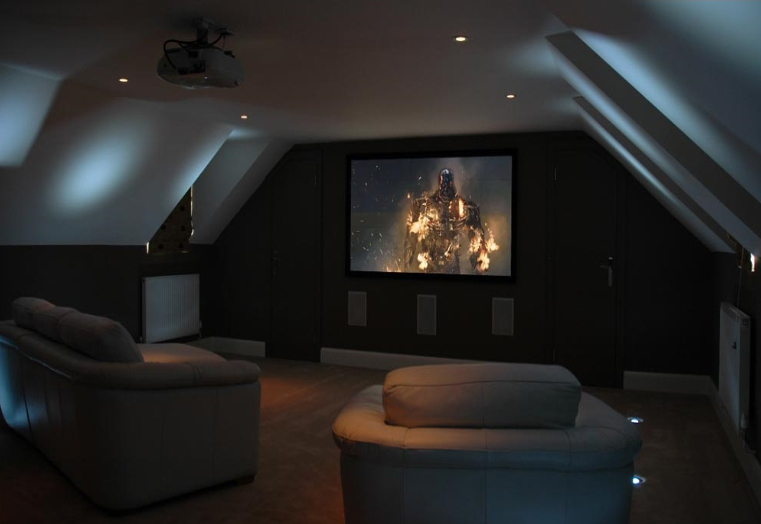 Home Cinema room on third story